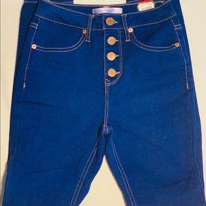 No Boundaries high waisted jeans size 3 (Walmart)